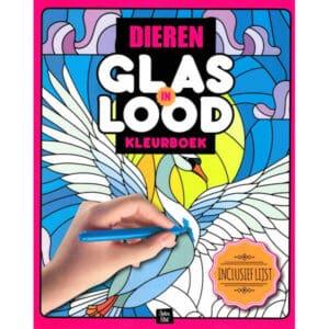 kleurboek-glas-in-lood-dieren-1