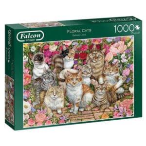 puzzel-falcon-floral-cats