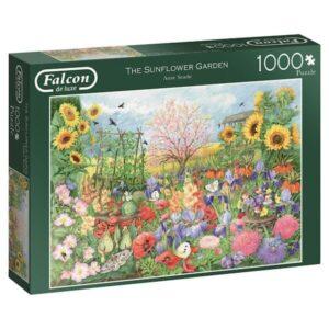 puzzel-falcon-the-sunflower-garden